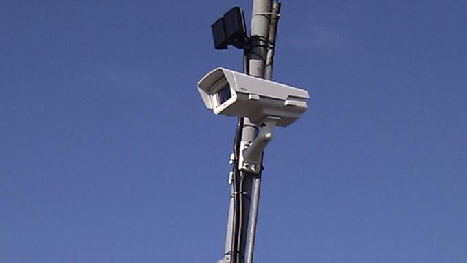 Dopravní IP kamera s IR přísvitem