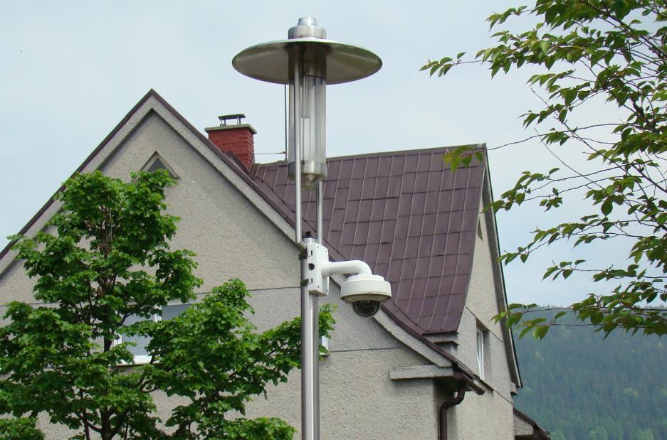 Kamera pro MKDS určená ke sledování dění v parku