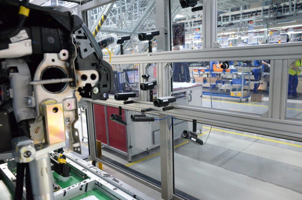 Vision system - autonomní kontrola kvality